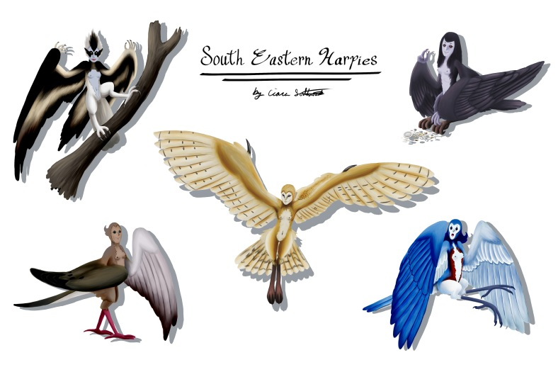 Harpies of Savannah