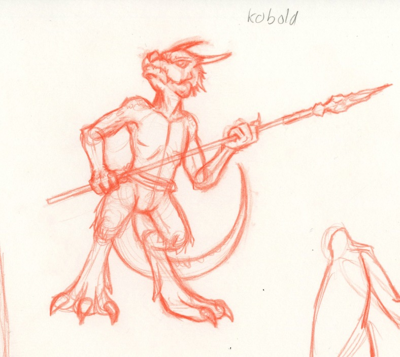 Dungion and Dragons monster-Kobold
