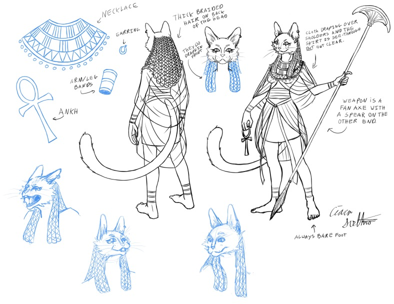 Bastet Reference Sheet